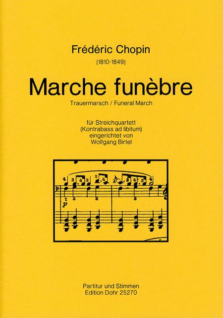 Marche funebre fur Streichquartett op. 35