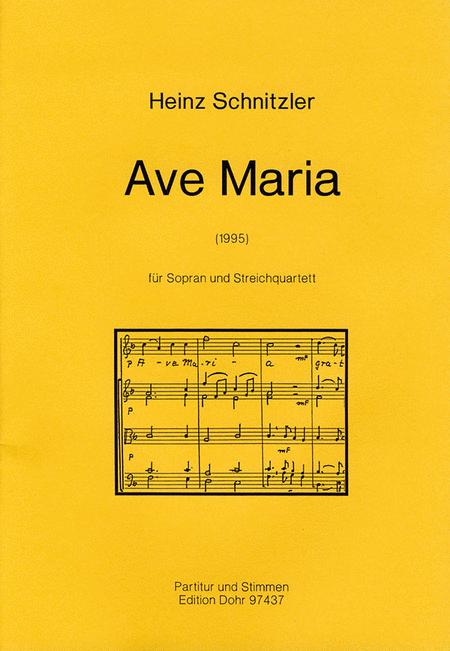 Ave Maria fur Sopran und Streichquartett