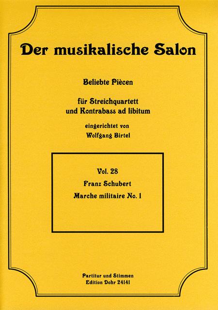 Marche militaire fur Streichquartett Nr. 1 op. 51 D 733
