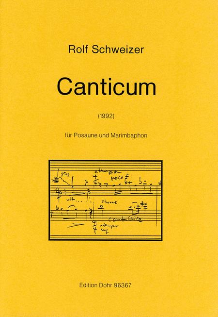 Canticum fur Posaune und Marimbaphon