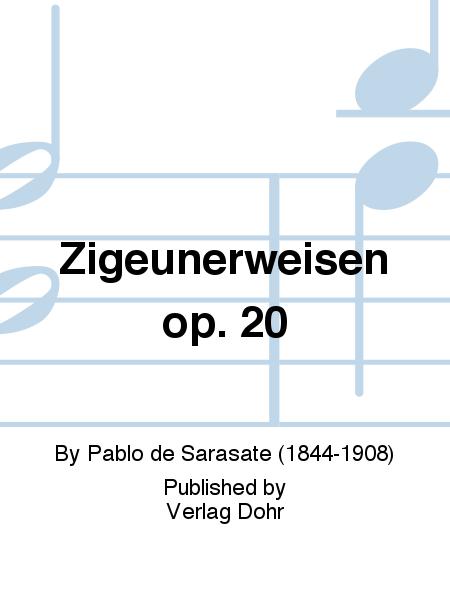 Zigeunerweisen fur Violine und Streichorchester op. 20
