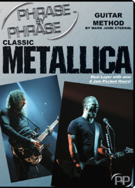 Phrase By Phrase Guitar Method: Classic Metallica DVD