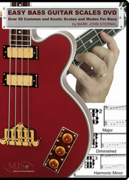 Easy Bass Guitar Scales (DVD)