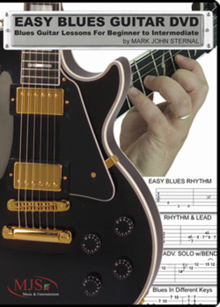 Easy Blues Guitar (DVD)