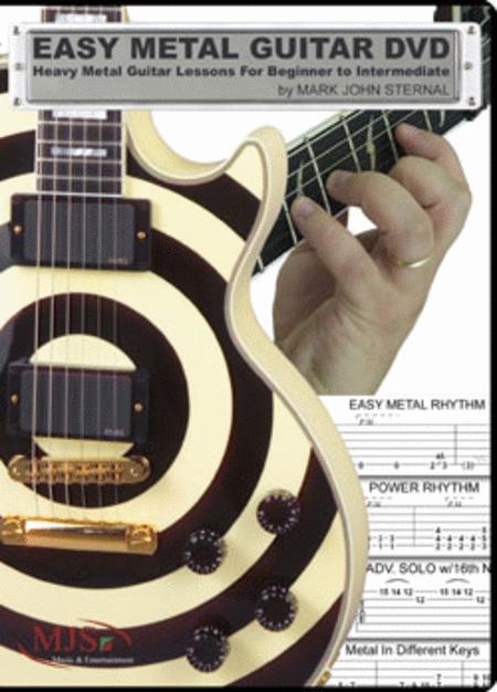 Easy Metal Guitar (DVD)