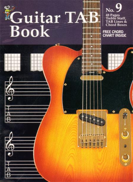Manuscript Book No. 9 - Guitar TAB Book