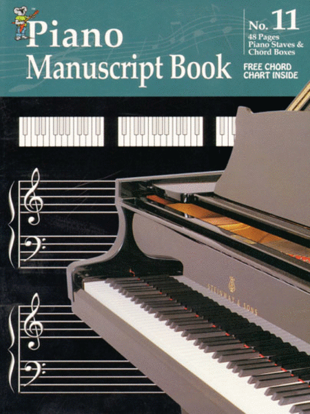 Manuscript Book No. 11 - Piano Staves
