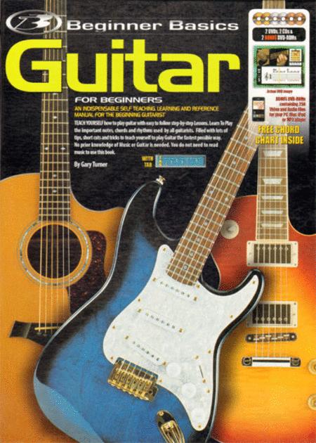 beginner basics guitar for beginners book 2cds 2dvds plus 2 bonus dvds sheet music by gary. Black Bedroom Furniture Sets. Home Design Ideas