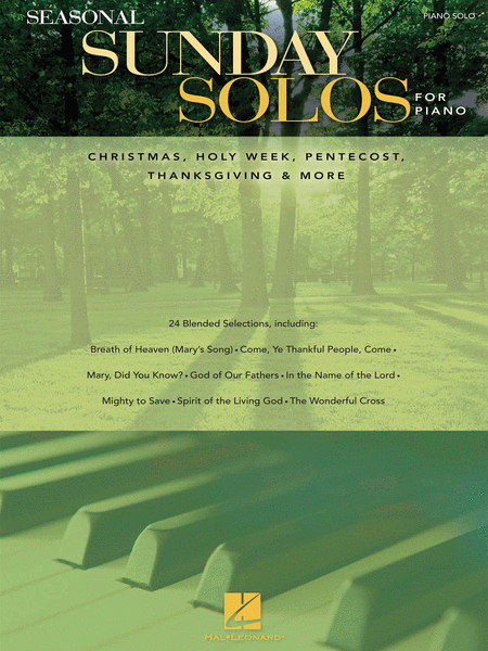 Seasonal Sunday Solos for Piano