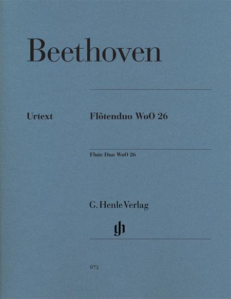Flute Duo, WoO. 26