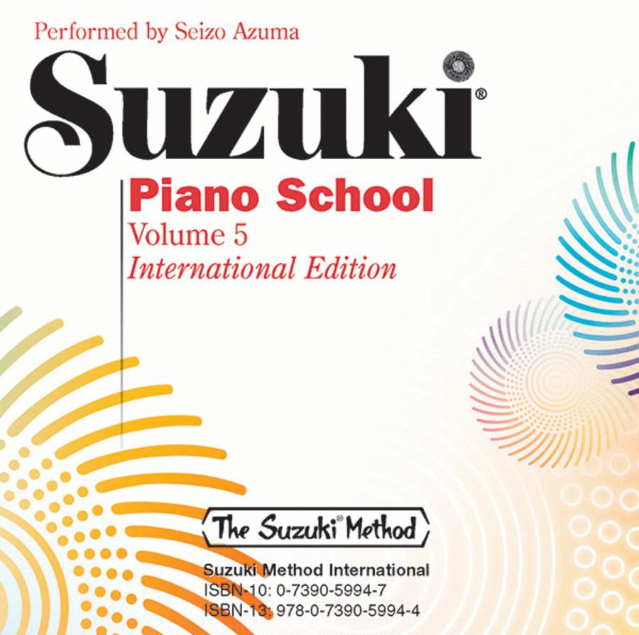 Suzuki Piano School, Volume 5
