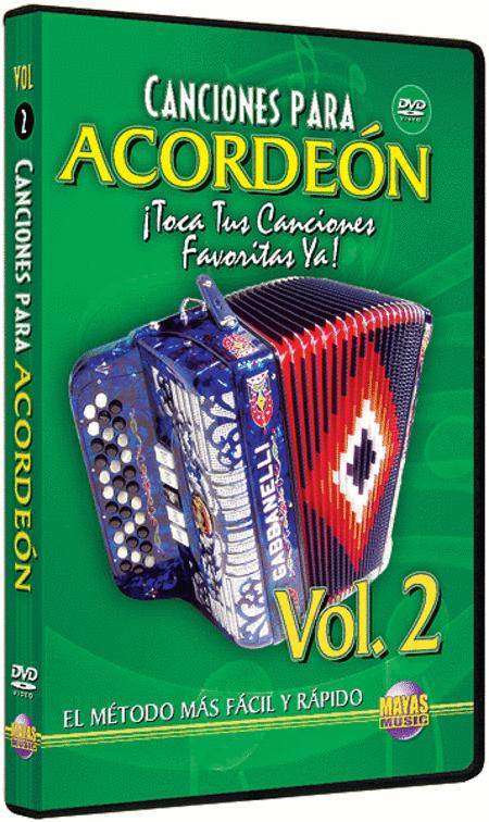 Canciones para Acordeon Vol. 2