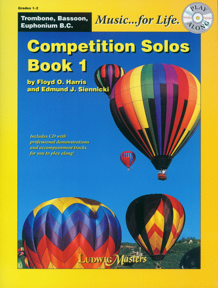 Competition Solos, Book 1 (trombone/bassoon/euphonium BC)