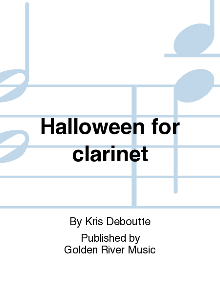 Halloween for clarinet