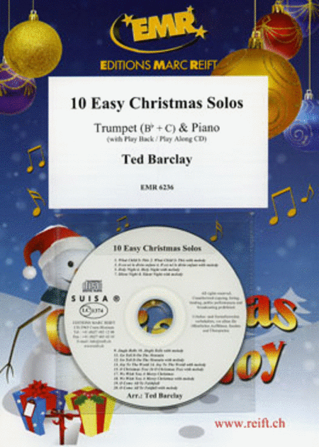 10 Easy Christmas Solos