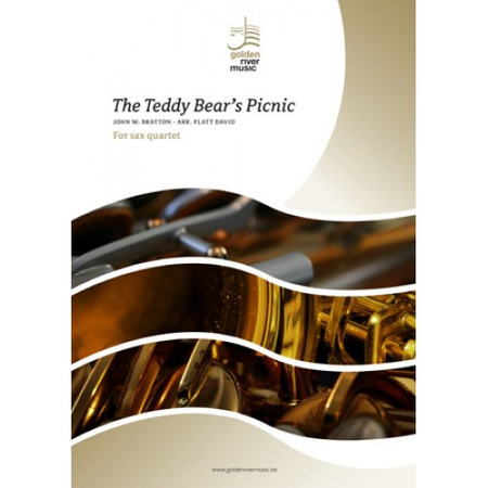 The Teddy Bear's Picnic for saxophone quartet