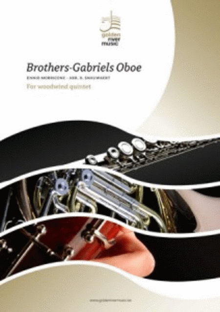 Brothers & Gabriels Oboe for woodwind quintet