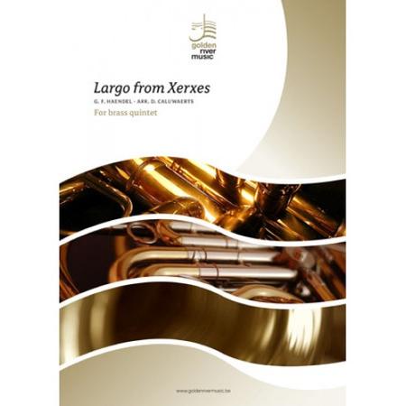 Largo from Xerxes for brass quintet