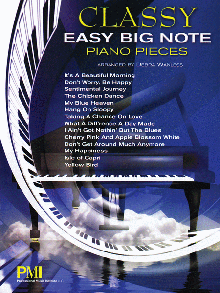 Classy Easy Big-Note Piano Pieces
