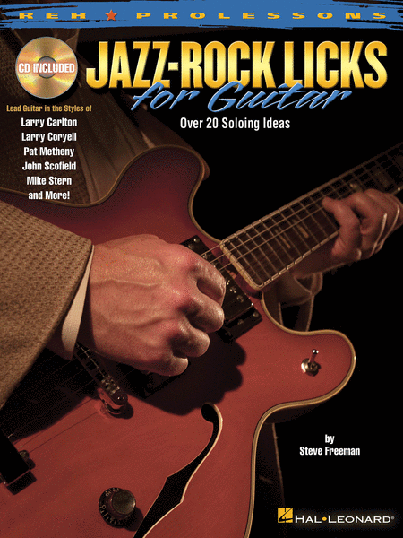 Jazz-Rock Licks for Guitar