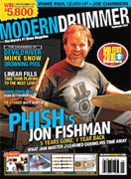 Modern Drummer Magazine September 2010