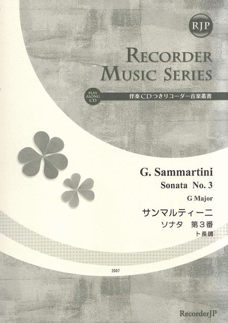 Sonata No. 3 in G Major