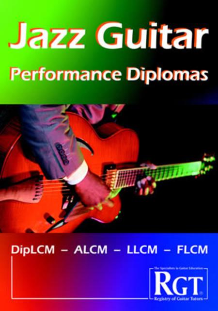 RGT - Jazz Guitar, Performance Diplomas Handbook