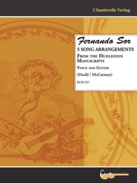 Fernando Sor 5 Song Arrangements