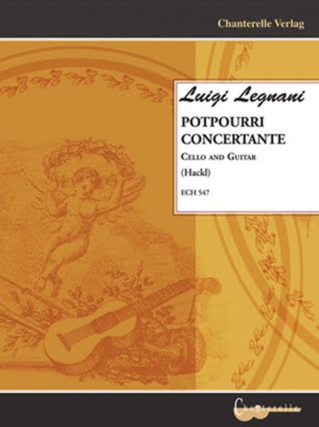 Luigi Legnani - Potpourri Concertante