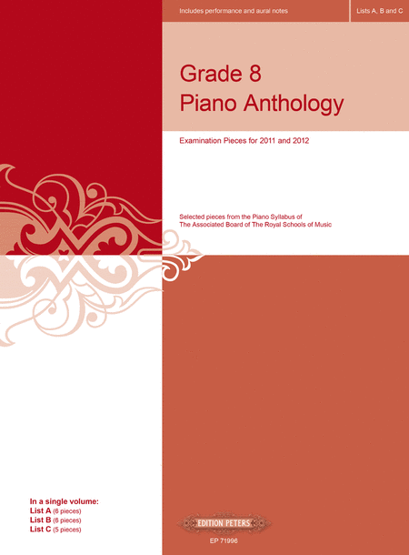 Grade 8 Piano Anthology for ABRSM 2011-2012