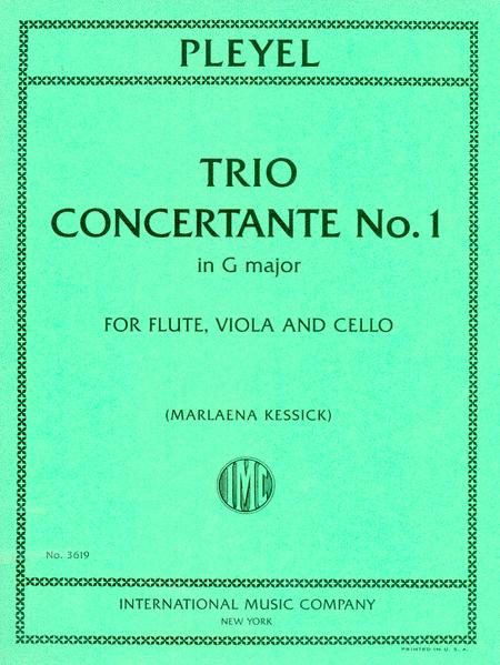 Trio Concertante No. 1 in G major for Flute, Viola and Cello