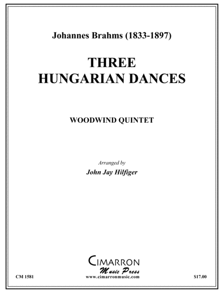 Three Hungarian Dances