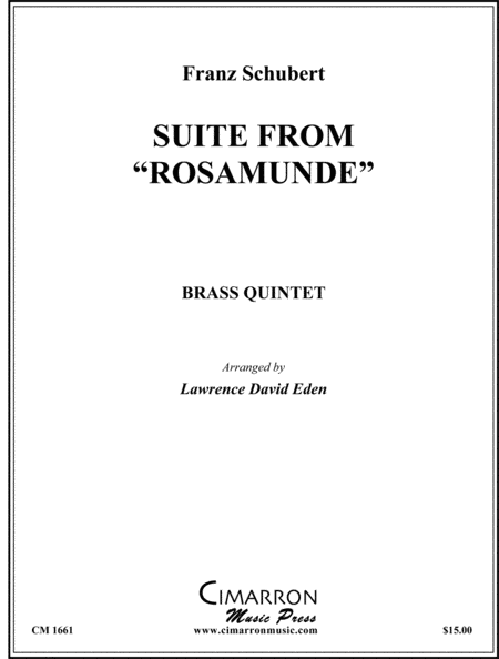 Suite from Rosamunde
