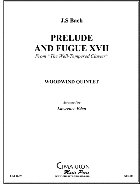 Prelude and Fugue XVII