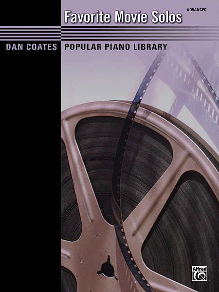 Dan Coates Popular Piano Library -- Favorite Movie Solos