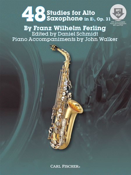 48 Studies for the Alto Saxophone in Eb, Op. 31