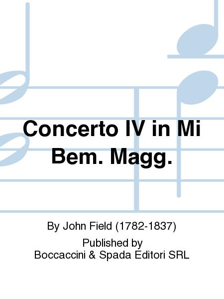 Concerto IV in Mi Bem. Magg.
