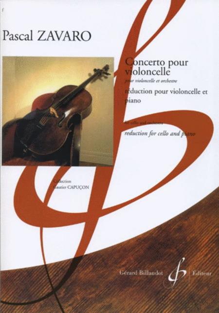 Pour Violocelle Et Orchestre