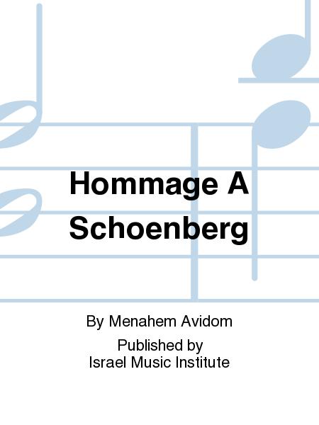 Hommage A Schoenberg
