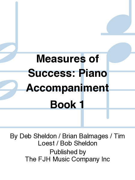 Measures of Success Piano Accompaniment Book 1