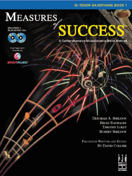 Measures of Success: B-flat Tenor Saxophone Book 1