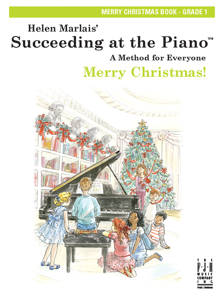 Succeeding at the Piano! , Merry Christmas Book - Grade 1