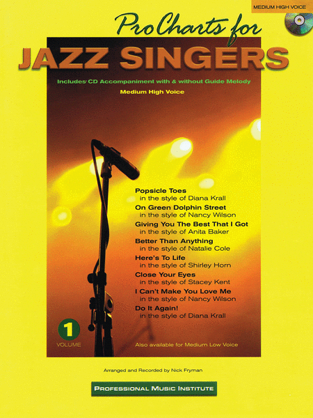 Pro Charts for Jazz Singers