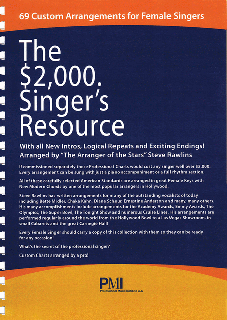 The $2000 Singer's Resource