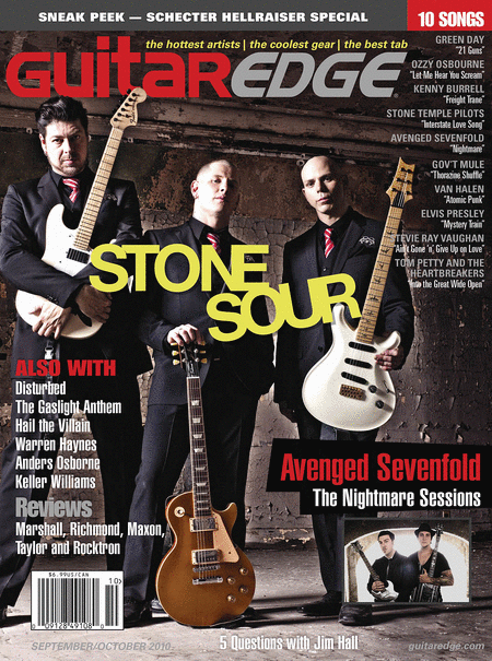 Guitar Edge Magazine Sept/Oct 2010