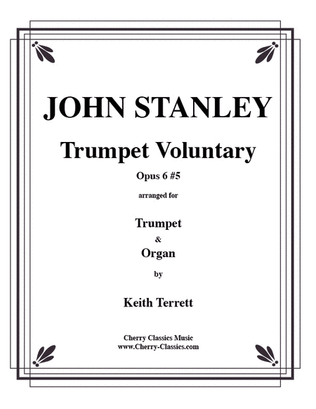 Trumpet Voluntary in D for Trumpet & Organ