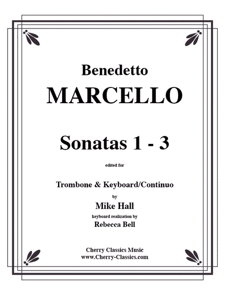 Sonatas 1-3 for Trombone & Continuo-critical edition