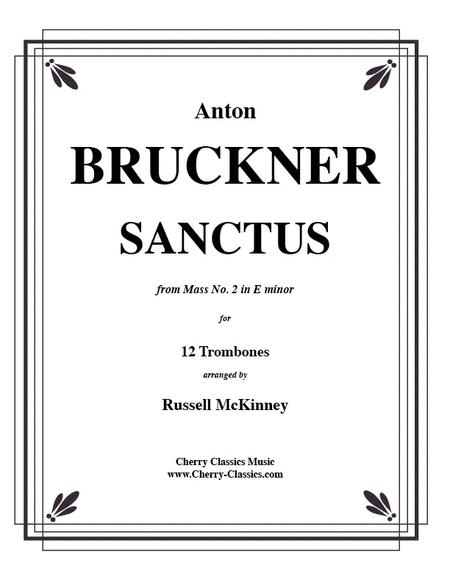 Sanctus from Mass No. 2 in E minor