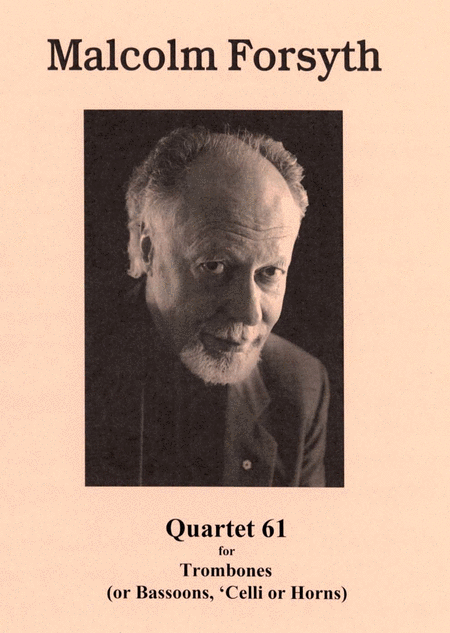 Quartet '61 for Trombone Quartet
