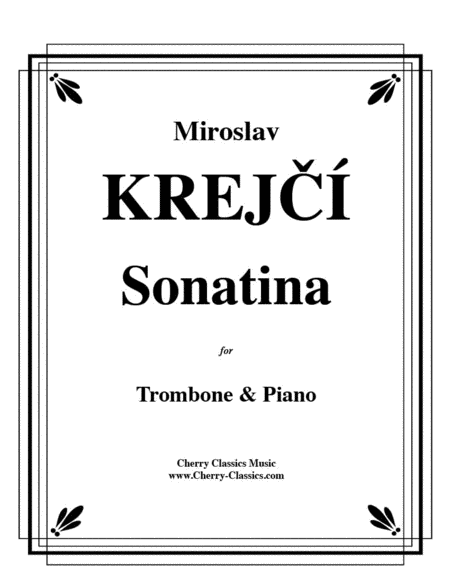 Sonatina for Trombone & Piano